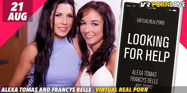 Alexa Tomas and Francys Belle in Looking for Help