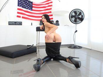 Nikki Stills in Big Baton 01